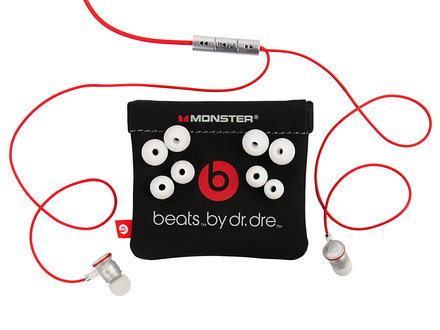 Гарнитура Monster Beats by Dr. Dre HTC 3.5mm, white